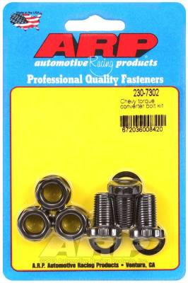 Hardware - Automatic Transmission Bellhousing Bolt Set - ARP - ARP Chevy Torque Converter Bolt Kit - 230-7302