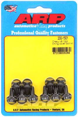 ARP - ARP Chevy V8 12Pt Timing Cover Bolt Kit - 200-1501