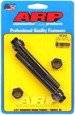 Assortments - Hardware Assortment - ARP - ARP Chevy, Mount To Frame, Motor Mount Bolt Kit - 130-3105