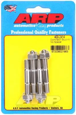 ARP - ARP Dominator Carb Stud Kit, No Spacer - 400-2414