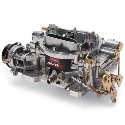 Carburetion - Carburetor - Edelbrock - AVS2 500 CFM #1901 Carburetor with Electric Choke, Satin Finish - 1901