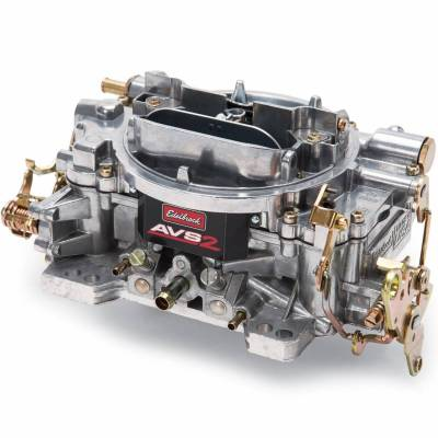 Carburetion - Carburetor - Edelbrock - AVS2 500 CFM #1902 Carburetor with Manual Choke, Satin Finish - 1902