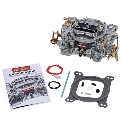 Carburetion - Carburetor - Edelbrock - AVS2 500 CFM #1904 Carburetor with Manual Choke for Dual-Quad - 1904