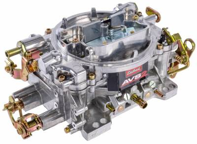 Carburetion - Carburetor - Edelbrock - AVS2 650 CFM #1905 Carburetor with Manual Choke, Satin Finish - 1905