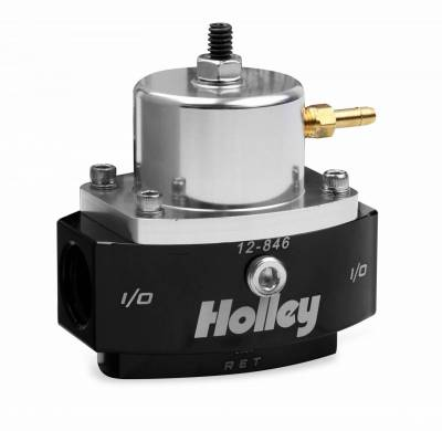 Holley - BILLET FP REG, ADJ 15-65 PSI 8AN IN/OUT - 12-846