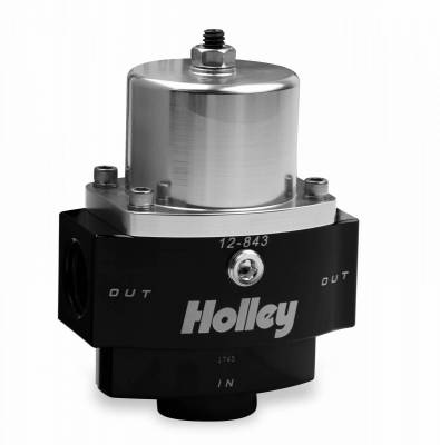 Holley - BILLET FP REG, ADJ 4.5-9 PSI 10AN IN/2X - 12-843