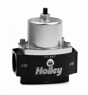 Holley - BILLET FP REG, ADJ 4.5-9 PSI 10AN IN/OUT - 12-847