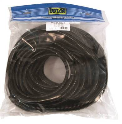 Wire, Cable and Related Components - Wire Conduit - Taylor Cable - BLACK CONVOLUTED TUBING ASSORTMENT - 38000