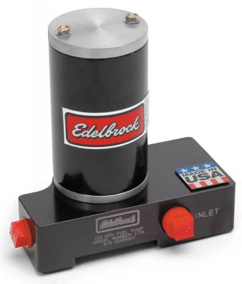 Fuel Pumps and Related Components - Electric Fuel Pump - Edelbrock - Black Electric Fuel Pump - 120 GPH - 1791