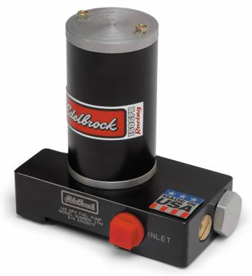 Fuel Pumps and Related Components - Electric Fuel Pump - Edelbrock - Black Electric Fuel Pump - 160 GPH - 1792