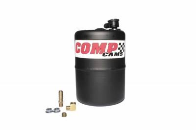 COMP Cams - Black Powder-Coated Aluminum Vacuum Canister - 5200