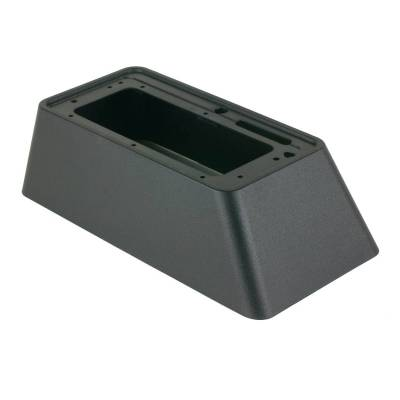 Manual Transmission Components - Manual Transmission Shift Boot - B&M - BLK PLASTIC CVR SKIRT - 80617
