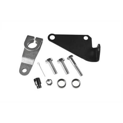 Automatic Transmission Components - Automatic Transmission Shift Lever - B&M - BRACKET AND LEVER KIT C6 - 40497