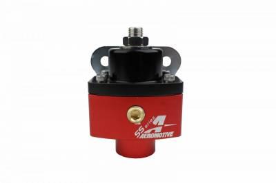 Aeromotive Fuel System - Carbureted Adjustable Regulator, Billet 2-Port AN-6 - 13201