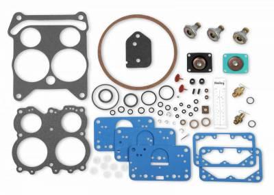 Carburetion - Carburetor and Installation Kit - Holley - CARBURETOR REPAIR KIT - 37-605