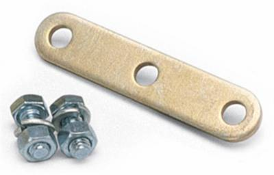 Edelbrock - Carburetor Throttle Cable Adapter Plate for Ford 351M/400 in Gold Finish - 1493