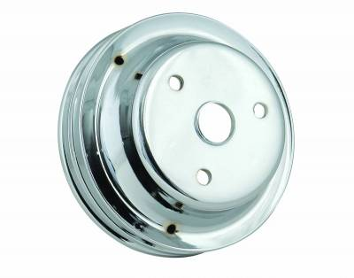 Mr Gasket - CHRM CRNK PULLEY-DBL GRV - 4977