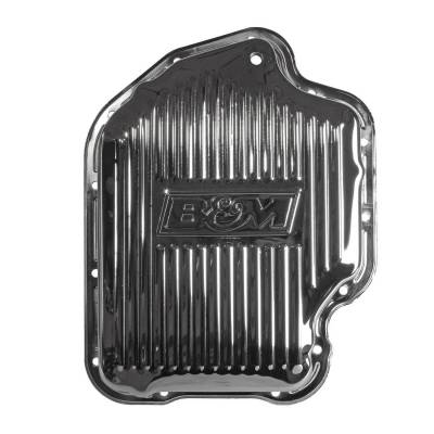 Transmission Hard Parts - Automatic Transmission Oil Pan - B&M - CHROME DEEP PAN TH400 - 20289