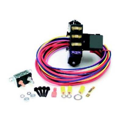 Painless Wiring - Cirkit Boss Aux. Fuse Block/3 Circuits w/TXL Wire/Weather Sealed - 70203