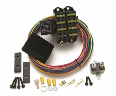 Painless Wiring - Cirkit Boss Aux. Fuse Block/7 Circuits w/TXL Wire/Weather Sealed - 70207