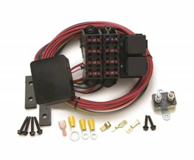 Painless Wiring - Cirkit Boss Aux. Fuse Block/All Ignition/7 circuit sealed - 70217