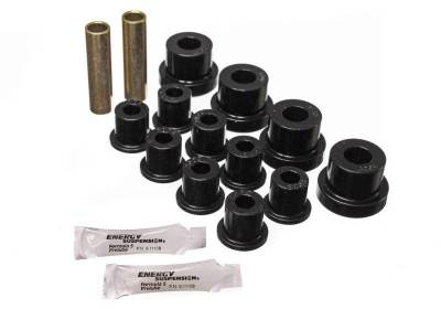 Suspension, Springs and Related Components - Leaf Spring Bushing - Energy Suspension - CJ FRONT SPRING BUSHING SET - 2.2102G