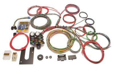 Painless Wiring - Classic Customizable Chassis Harness-Key In Dash-21 Circuits - 10102
