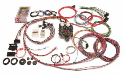 Painless Wiring - Classic Customizable Chevy Pickup Harness (1963-1966)-19 Circuits - 10112