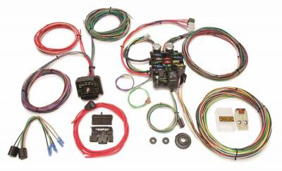 Painless Wiring - Classic Customizable Jeep CJ Harness (1976-1986)-22 Circuits - 10106