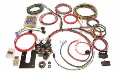 Painless Wiring - Classic Customizable Pickup Chassis Harness-GM Keyed Column-21 Circuits - 10103