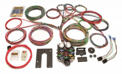 Painless Wiring - Classic Customizable Pickup Chassis Harness-Key In Dash-21 Circuits - 10104