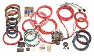 Painless Wiring - Classic Customizable Trunk Mount Chassis Harness-21 Circuits - 10120