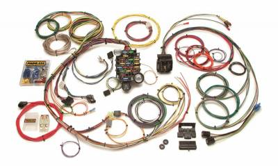 Painless Wiring - Classic-Plus Customizable 1967-68 Camaro/Firebird Harness-24 Circuits - 20101
