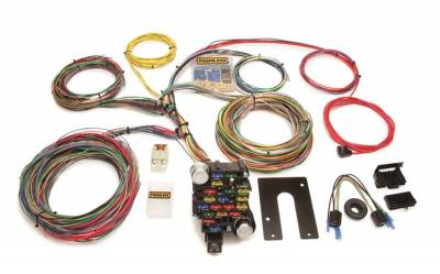 Painless Wiring - Classic-Plus Customizable Chassis Harness-Key In Dash-28 Circuits - 10202