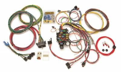 Painless Wiring - Classic-Plus Customizable GM Pckup Truck Chassis Harness (1967-1972)-28 Circuits - 10206