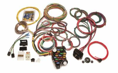 Painless Wiring - Classic-Plus Customizable Muscle Car Harness-28 Circuits - 20104