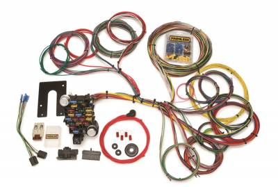 Painless Wiring - Classic-Plus Customizable Pickup Chassis Harness-Key In Dash-28 Circuits - 10204