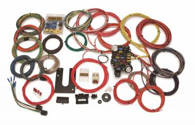 Frame - Chassis Wiring Harness - Painless Wiring - Classic-Plus Customizable Trunk Mount Chassis Harness-28 Circuits - 10220