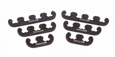 Ignition Wire and Related Components - Spark Plug Wire Holder - Taylor Cable - Clip-On Separators 7-8mm Black - 42800