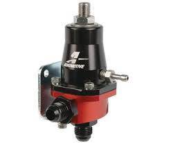 Aeromotive Fuel System - Compact EFI Regulator, Billet, Adjustable, EFI, (1) AN-6 male inlet and return - 13105