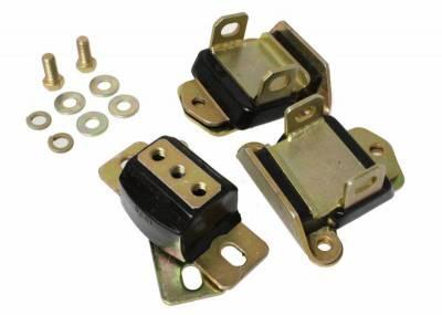 Cylinder Block Components - Engine Mount Kit - Energy Suspension - COMPLETE ENGINE/TRANS MNT SET - 3.1120G