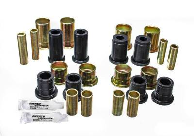 Suspension, Springs and Related Components - Suspension Control Arm Bushing Kit - Energy Suspension - CONTROL ARM BUSHING SET - 3.3156G