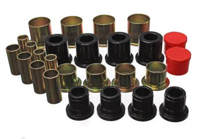 Suspension, Springs and Related Components - Suspension Control Arm Bushing Kit - Energy Suspension - CONTROL ARM BUSHING SET - 3.3161G