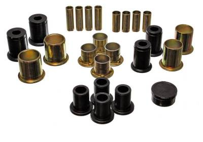 Suspension, Springs and Related Components - Suspension Control Arm Bushing Kit - Energy Suspension - CONTROL ARM BUSHING SET - 3.3173G