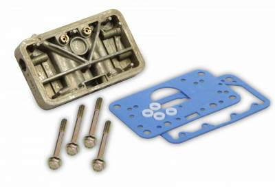 Carburetion - Carburetor Metering Block - Holley - CONVERSION KIT - 34-6