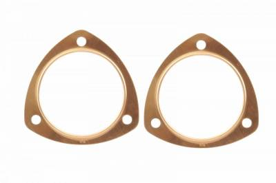 Gaskets and Sealing Systems - Exhaust Collector Gasket - Mr Gasket - COPPER COLL GSKT-3.50 2 PC SET - 7178C
