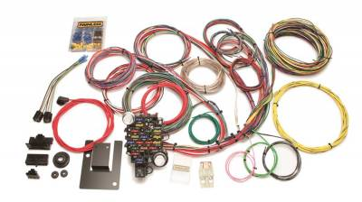 Frame - Chassis Wiring Harness - Painless Wiring - Customizable Classic-Plus Tri-Five Chevy Chassis Harness-28 Circuits - 20106
