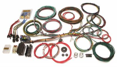 Frame - Chassis Wiring Harness - Painless Wiring - Customizable Ford Color Coded Chassis Harness-21 Circuits - 10123