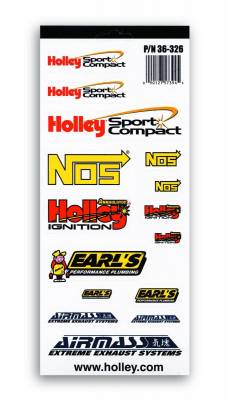 Emblems - Exterior Decal - Holley - DECAL PK-HOLLEY SPORT COMPACT - 36-326
