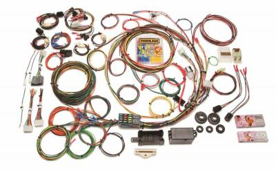 Frame - Chassis Wiring Harness - Painless Wiring - Direct Fit F-Series Ford Truck Harness w/o Switches (1967-1977)-21 Circuits - 10117